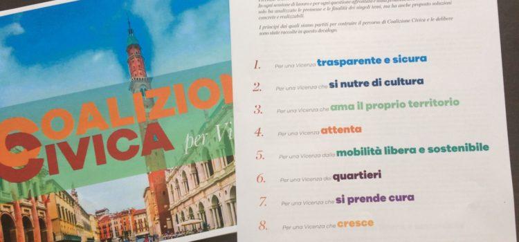 Persone, quartieri, sicurezze, rispetto: il programma di Coalizione Civica